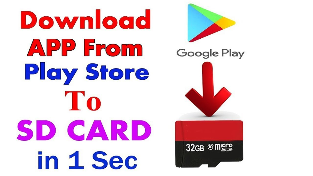 How to download any apps from playstore to sd card android without.