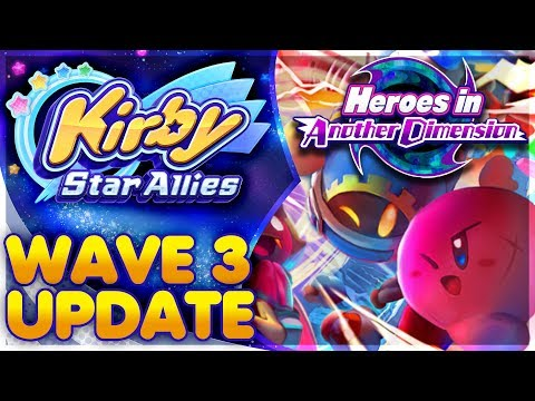 Heroes in Another Dimension 100% ALL 120 HEARTS! | Kirby Star Allies Wave 3 DLC