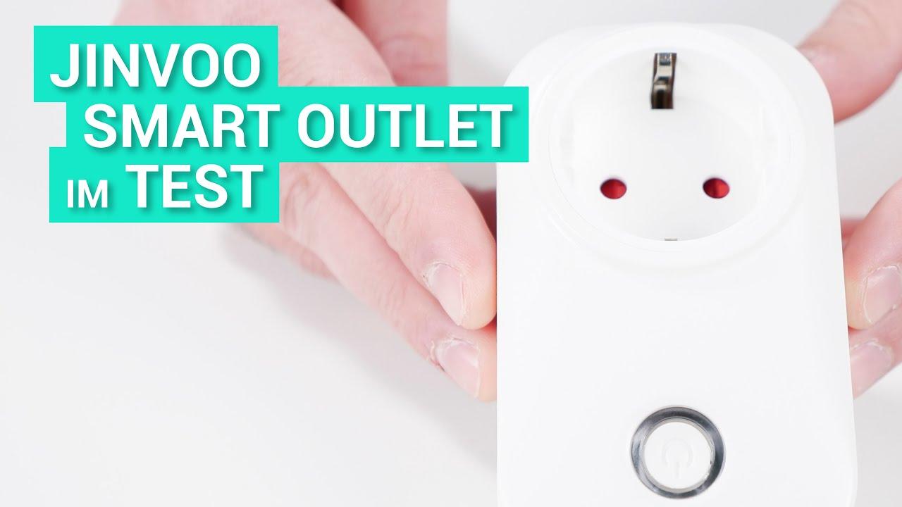 Jinvoo - Smarte Steckdose kurz vorgestellt - YouTube