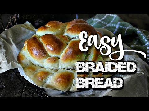 Easy Braided Bread - recipe