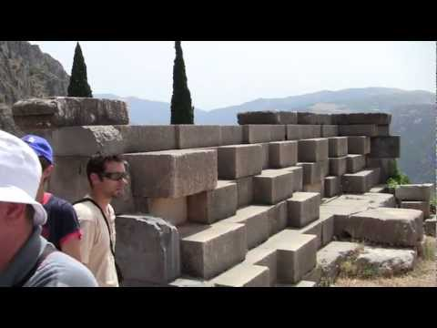 A Visit to the Sanctuary of Delphi in Greece
