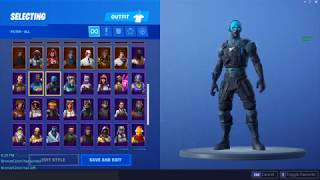 my stacked fortnite account (renegade raider, raider revenge, and more)