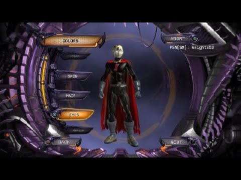 DC Universe Online Red X Creation