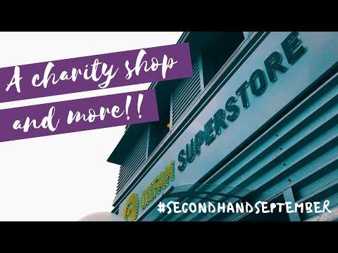 The Oxfam Superstore Opening I #SecondHandSeptember