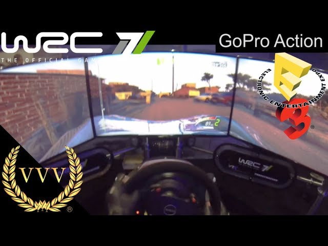 WRC 7 - GoPro Camera Triple Screen Mexico