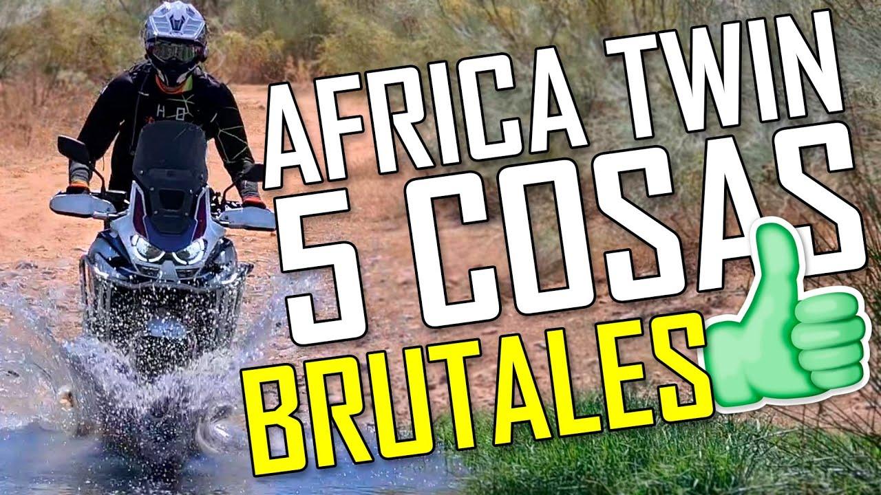 5 Cosas GENIALES de la AFRICA TWIN 2020