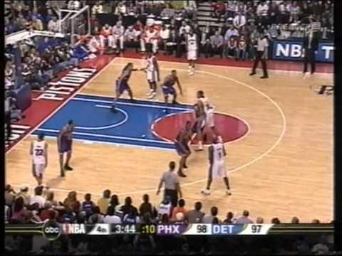 Chauncey Billups 35 pts,6 ast, season 2006 pistons vs suns