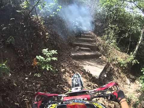 Salida de el chorreron Colomoncagua Enduro