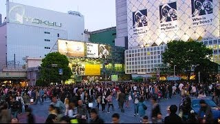 Shibuya, Tokyo 渋谷区:  / Nick In Japan' 2003 (Movie 2)