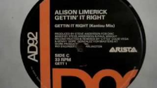 Alison Limerick - Gettin