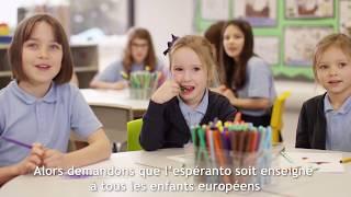 Espéranto pour l'Europe - Adoptons l'espéranto comme langue commune auxiliaire