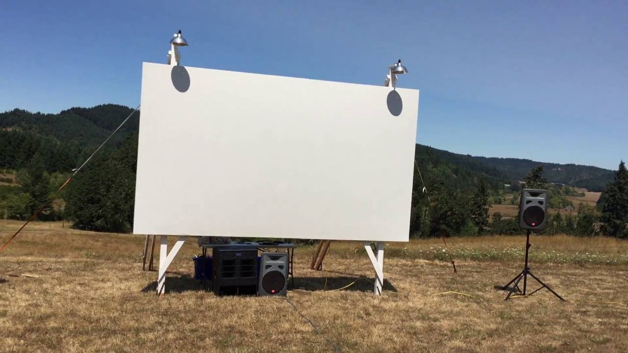 Outdoor Home Theater, Epson Home Cinema 3000, Samsung - YouTube