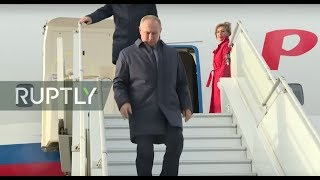 LIVE: Putin arrives in Paris for Normandy Four talks