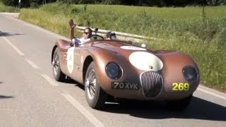 Driving a Jaguar C-Type on the Mille Miglia - /CHRIS HARRIS ON CARS