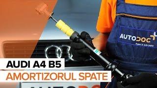 Ghid video pentru începători despre cele mai curente reparații ale Audi A4 B8 Sedan