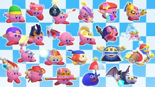 Kirby 2 - All Copy Abilities & Moves