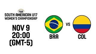 Brazil vs. Colombia - Final - South American U17 Women's Championship 2019