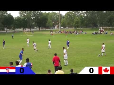 2014 Calgary Nations Cup   Game 5   Semi Finals   Canada VS Croatia   1080P