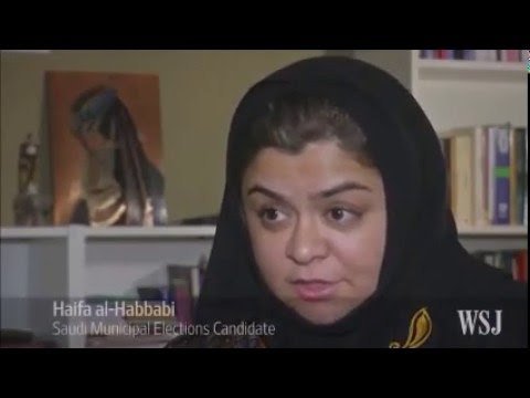 HISTORIC SAUDI ELECTIONS WOMEN VOTE , RUN AND WIN