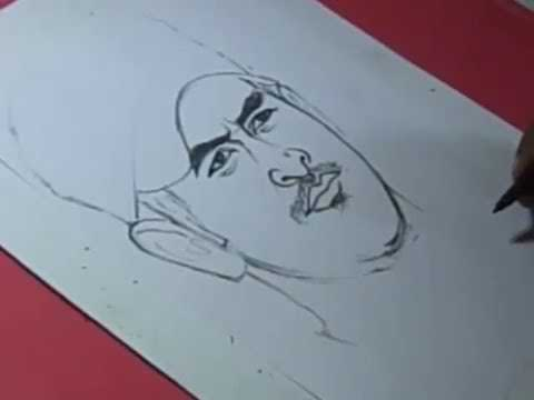 How To Draw Ms Dhoni Step By Step Tutorial By Ms Dhoni