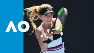 Katie Boulter v Ekaterina Makarova match highlights (1R) | Australian Open 2019