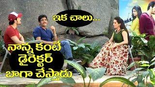 Hello movie exclusive interview with Nagarjuna and Akhil | Naati Tomato Tv