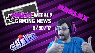 Gaming weekly with DarkJ! Free games on playstation and the roblox summer event! 6 30 17