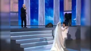 Галина Юдашкина вышла замуж. Свадебный танец отца и дочери