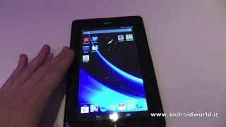 Acer Iconia Tab B1, anteprima in italiano (CES 2013) by AndroidWorld.it