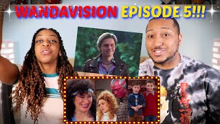 THIS EPISODE WAS WILD!!! | WandaVision Episode 5 REVIEW + THOUGHTS!! (SPOILERS)