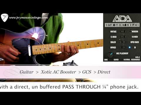 A/DA GCS-2 Guitar Cabinet Simulator