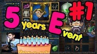 5 YEARS, 5 EVENTS - ,,Štěstí na dosah,, :DD #1