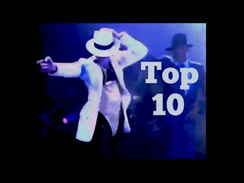 BEST DANCE MOVES  Top 10  Michael Jackson