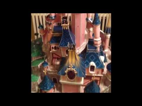 Papercraft Sleeping Beauty Castle ~ Disneyland Paris (Paper Model)