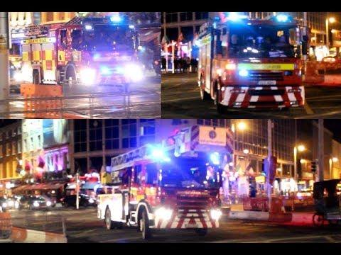 [Responding + On Scene] Dublin Fire Brigade Delta101, Delta102, Delta106 responding to a AFA
