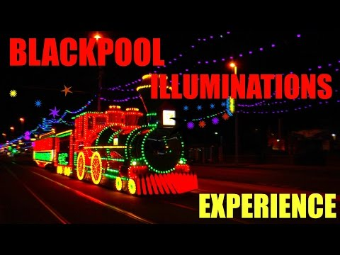 BLACKPOOL ILLUMINATIONS EXPERIENCE WITH COMMENTARY