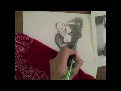 Betty Howard Speed Drawing