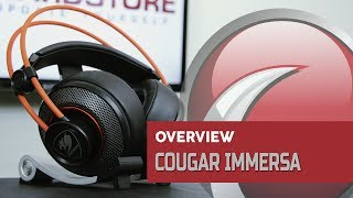 COUGAR - Headset Immersa - Overview