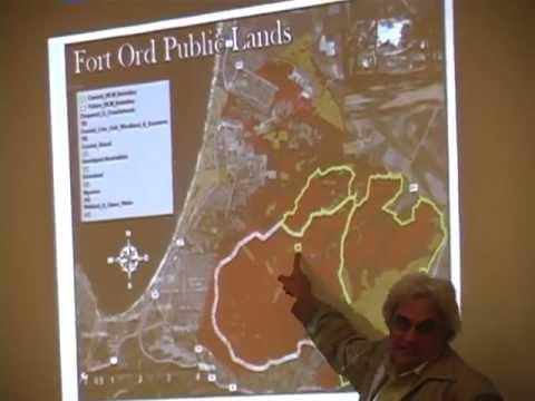 Reuse of Fort Ord: FORA Background & Current Plan - 4. Bruce Delgado, Bureau of Land Mngnt Botanist