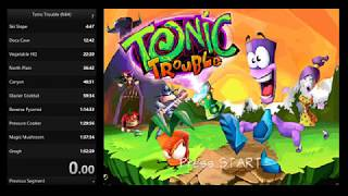 Tonic Trouble (N64) Any% in 1:47:25 by Osukarui