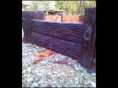 ไม้เทียมงานปูนปั้น