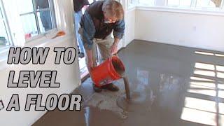 How to Self Leטel a Floor