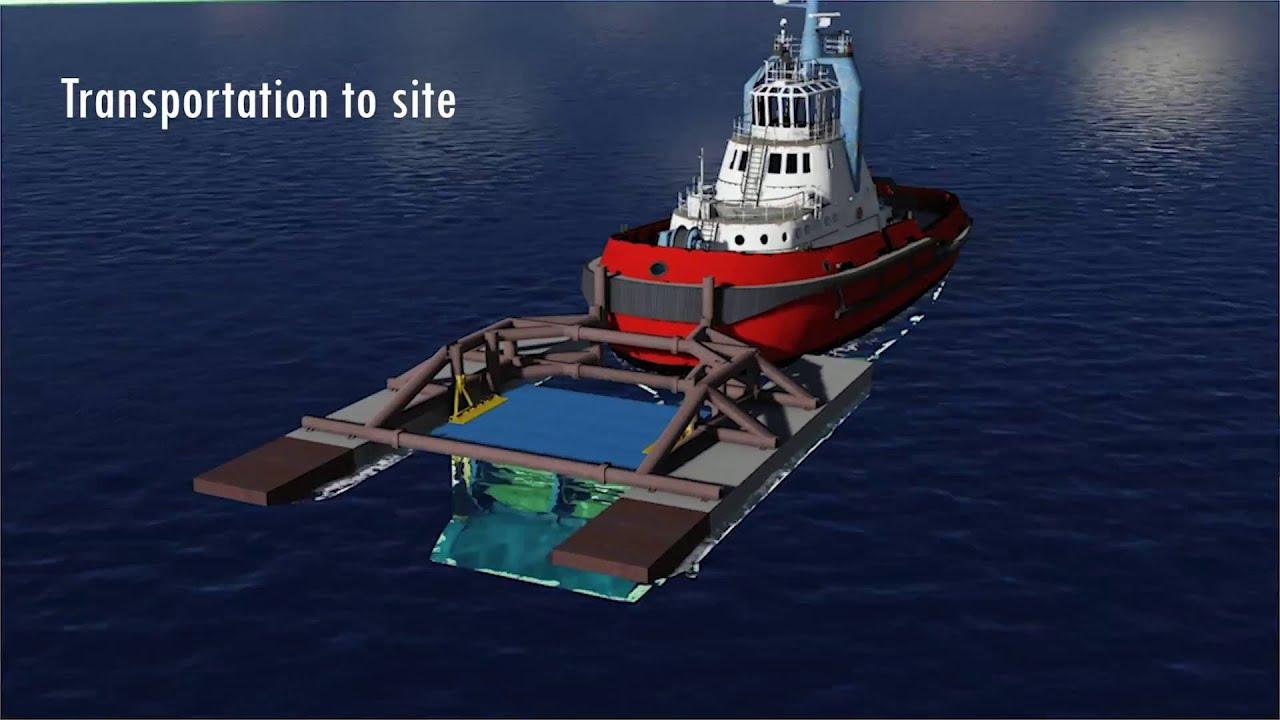 Deep River Installation barge & Turbine Transportation and