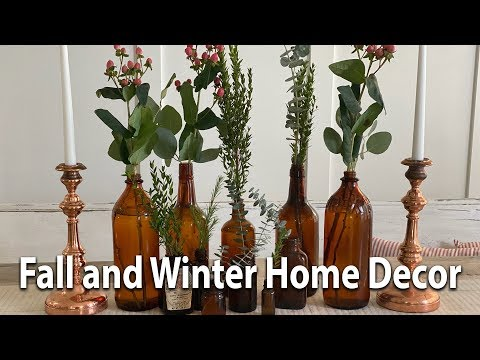 Fall and Winter Home Decor