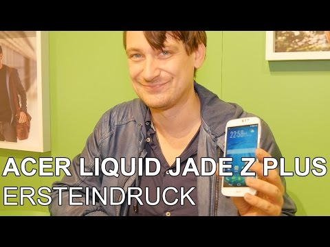 Acer Liquid Jade Z Plus - Hands On | MWC 2015
