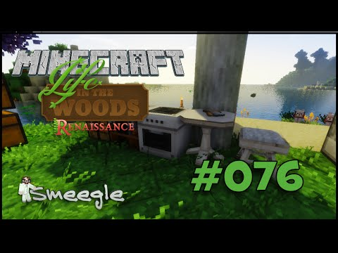 LIFE IN THE WOODS #076 - Kitsch Kitchen ► Minecraft Let's Play [HD] [GERMAN]