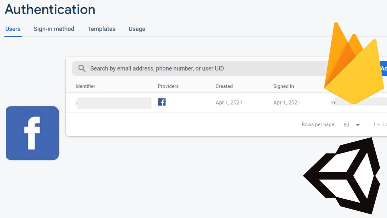 Facebook Authentication with Firebase in Unity -  2021