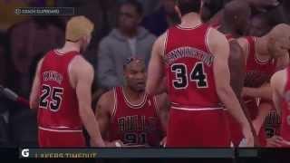 NBA 2K16 Gameplay - Lakers vs Bulls