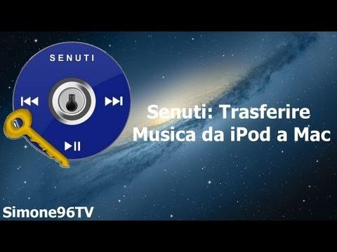 Senuti: Trasferire Musica da iPod a Mac