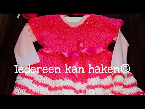 Iedereen Kan Haken Baby Jurkje Crochet Baby Dress Diy Leren Haken